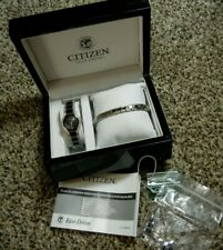 CITIZEN Eco-Drive Ladies Dress Watch with Matching Bracelet New-Other in box