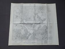 Landkarte Meßtischblatt 3544 Potsdam (Nord), Bornstedt, Wannsee, Fahrland, 1942