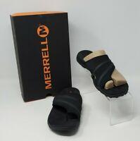 MERRELL Women's Terran Ari Wrap Sandals, Black J94464 - Size 8