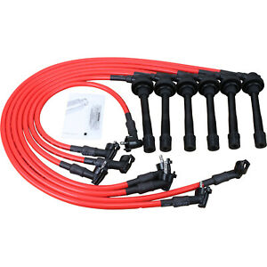 10mm Performance Spark Plug Wire Set For 93-97 Lexus Toyota Land Cruiser LX450