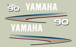 Replacement Decal Kit for Yamaha 90 hp 4 Stroke Outboard Motor