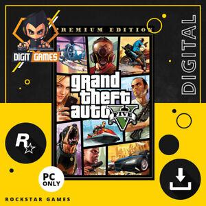 Grand Theft Auto V / GTA 5 Premium Online Edition - Rockstar Games Key / PC Game