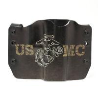 Holster for SW, Smith & Wesson, USMC DARK, OWB Kydex Gun Holster
