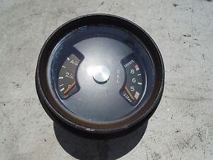 PORSCHE 911 GAS FUEL OIL OEL COMBO GAUGE TANK 91164120200 VDO S T E 911S 911E
