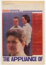 Assembly Yazoo Vince Clarke Feargal Sharkey Erasure Interview NME Cutting 1983