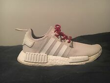 adidas nmd desert sand women's size 9.5 mens 8 with unoriginal laces
