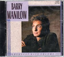 Barry Manilow - Greatest Hits Vol.3  Audio CD SEALED