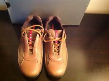 PRADA WOMENS BROWN LEATHER & MESH American Cup SIZE 36 Us Size 6
