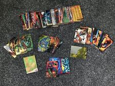 Fleer Ultra Spider-Man Trading Card Set - 218 Cards In Total inc. Extras