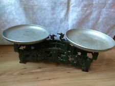 RARE Antique Counter Old Vintage Farm Decor WEIGHT VINTAGE old iron Scales