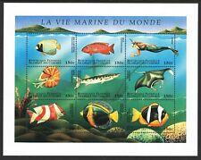 Comoros Islands 1998 Marine Life FISH - MNH Miniature Sheet - (37)