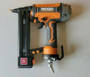 RIDGID 18-Gauge 1-1/2 in. Finish Stapler R150FSF *Slightly Used*