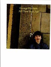 George Harrison CLASSICROCK45(DARKHORSE49725)AllThoseYearsAgo/Writing'sOnTheWall