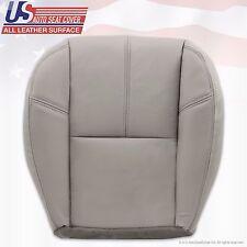 2007 - 2012 GMC Yukon Passenger Side Bottom Leather Seat Cover Light Gray