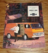 Original 1967 Chevrolet Trucks Chevy-Van Series 10-20 Sales Brochure 67