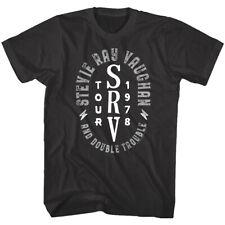 Stevie Ray Vaughan Srv Tour 1978 Men's T Shirt Double Trouble Guitarist Rock