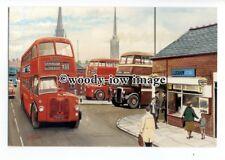 tm6079 - Coventry's Midland Reds, D5, LD8 c1950s, Artist - G.S.Cooper - postcard