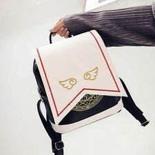 Lolita Handbag Card Captor Sakura Wallet Cards Shoulder Angel Wing Messenger Bag