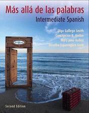 Más allá de las palabras: Intermediate Spanish, 2nd Edition (Book