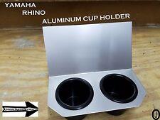 Yamaha Rhino Center Dash 2 Cup Holder anodized Aluminum