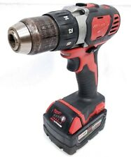 "Milwaukee 18V 1/2"" Drill/Driver & 4AH Battery (M18, Lithium, 2606-20) I13735"