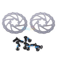 2pcs Bike Disc Brake Rotor 140mm 160mm 180mm Fit for Avid G3 CS Shimano Bicycle