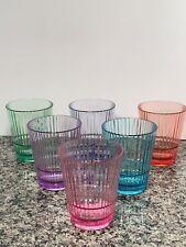 ONLY 16 OZ 6 Piece Set Tritan Unbreakable Shatterproof Tumblers Cups  Drinkware