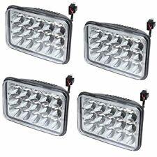 DOT 4PCS 4x6 LED Headlight for Kenworth Peterbilt Freightliner H4651 H4652 H4656