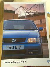 VW Polo SE range brochure Mar 1996