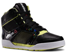 Reebok Unisex Lm Dance Urtempo Mid Dance Shoes Black Mens Size 8 Womens Size 9.5