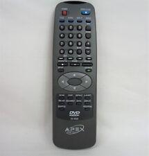 Apex Digital DV-R200 Original DVD Player Remote Control For AD-700 & AD-660