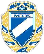 "MTK Budapest FC Hungary Football Soccer Car Bumper Sticker Decal 4""X5"""