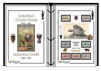 Album de timbres à imprimer OUBANGI-CHARI et le TCHAD