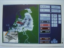 (NL2107) 150 YEARS KNMI METEOROLOGY 2004 NETHERLANDS maximum maxi card postcard
