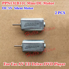 2PCS DC 5V Micro DC Motor Silent Motor PPN13LB11C for Car CD Driver DVD Player