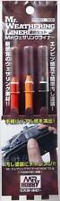 MR.WEATHERING LINER RUST COLOR SET Mr. Hobby