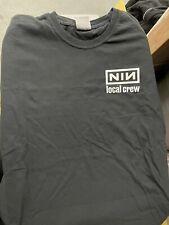Nine Inch Nails Crew logo shirt reprint L comfort colors