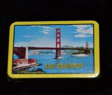 Vtg Mini SOUVENIR CALIFORNIA Playing Cards SAN FRANCISCO BRIDGE The World Joker