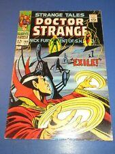 Strange Tales #168 Silver age Dr. Strange Nick Fury VGF Wow Steranko