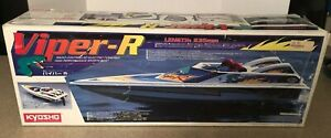 NEW Kyosho Viper-R High Performance Sports Boat Vintage Remote Contol Rc