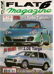 FLAT 6 134 PORSCHE 996 TURBO TIPTRONIC 911 E 2.0 TARGA 996 GT3 RS CAYENNE TURBO