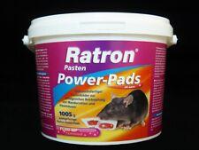 Ratron Pasten Power-Pads 29 ppm 1005 g Eimer Rattengift Rattenköder Mäuse