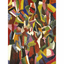 Bruce Composition Vi Abstract Cubist Painting Extra Large Art Poster