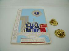 Rare Pin's Pins Pin LIONS CLUB INTERNATIONAL BIRMINGHAM 1998 FRANCE 103 TOP !