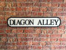 Vintage Wood Street Road Sign Diagon Alley
