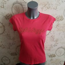Golddigga size 10 12 uk  t shirt pink womens ladies girls