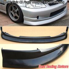 CS Style Front Bumper Lip (Urethane) Fits 99-00 Honda Civic 3dr