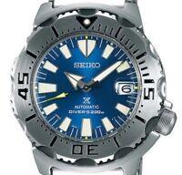 2018 New!! SEIKO PROSPEX Limited Model SBDC067 Diver Blue Monster Men's Watch
