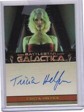 Battlestar Galactica Premiere Autograph Card Tricia Helfer auto Number Six BSG