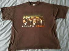 Bonjovi Bon Jovi Crush Tour XL T Shirt Official 2000 Music Concert Merchandise